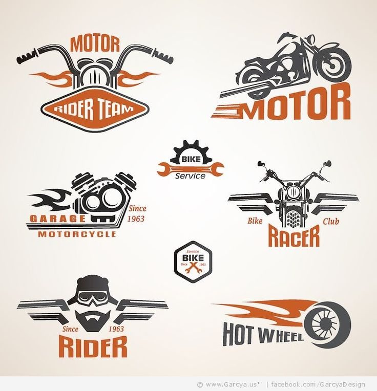 Bike Logo Design Samples