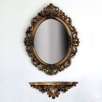 Continental shelf bulkhead wall mirror bathroom mirror mirror sets Stands stand a new special offer free shipping