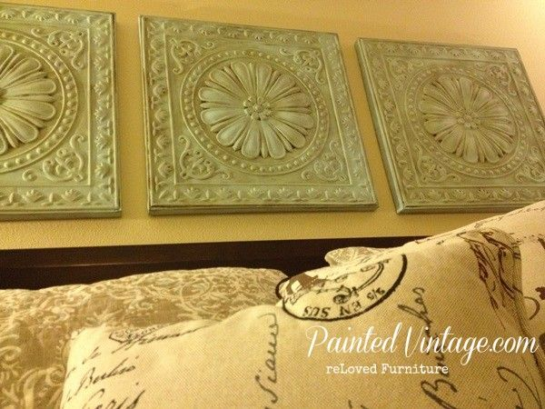 Best 25 Ceiling Tiles Painted Ideas On Pinterest Tin