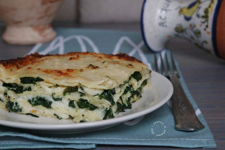 Lasagne spinaci e scamorza | I pasticci di mamma Alex