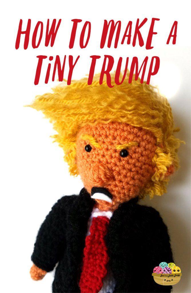 How to Make a Crochet Donald Trump                                                                                                                                                                                 More