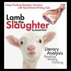 "Use the black humor of Roald Dahl's well-known short story, ""Lamb to the Slaughter,"" to teach your students the elements of literary analysis. This..."