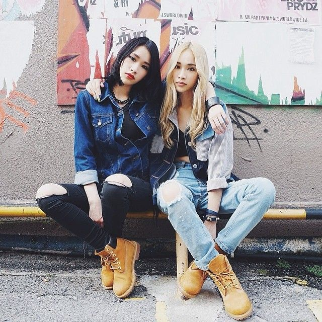 Spotted on #brandicted #timberland #duogigslooks