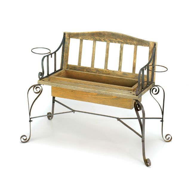 Ironwood Bench Planter Ironwood Bench Planter,Garden Planters and Indoor Planter,Decor,Novelties at Wholesale Prices [15167] : Twin Ports, Decor, and Novelties, Decor and Novelties at Wholesale Prices, Decor, and Novelties, at Wholesale, Prices!