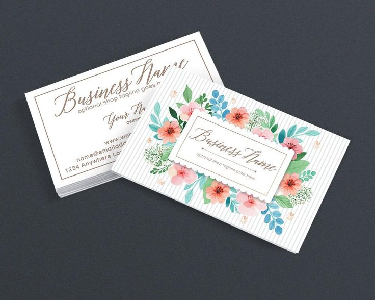 The 31 best good business cards images on pinterest business card floral business card design creative business card design polly reheart Images