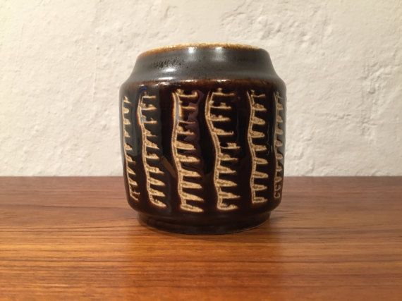 Small Soholm vase or jar Scandinavian Mid Century by QuirkySundays
