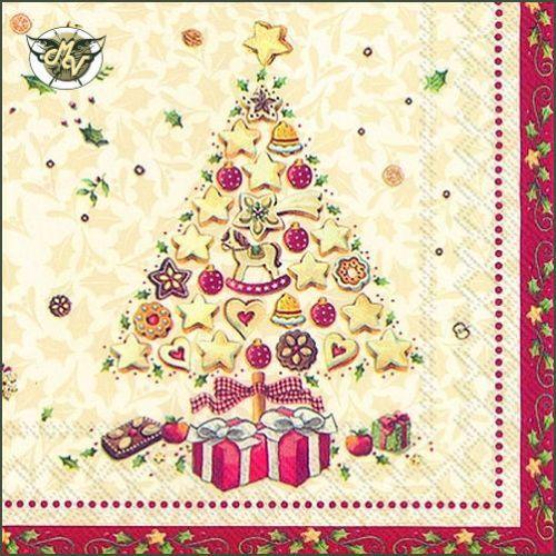CHRISTMAS-BAKERY-TREE-SERVIETTEN-NAPKINS-25-X-25-CM-20ER-PACK-COCKTAILSERVIETTEN