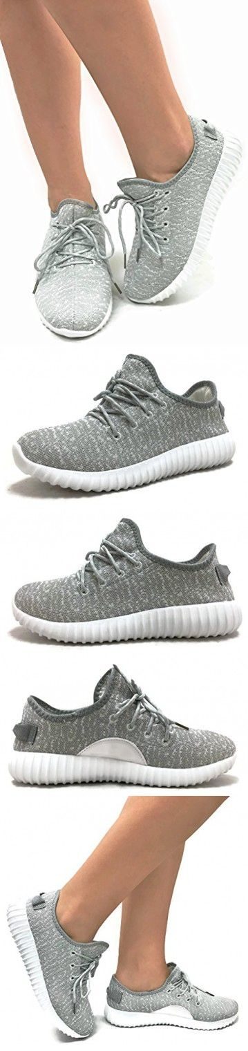 The Collection JILL Womens Athletic Shoes Casual Fashion Breathable Sports Sneakers, Grey White, 7