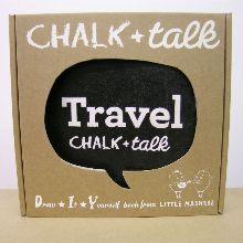 Chalk and Talk - Chalkboard book - TRAVEL