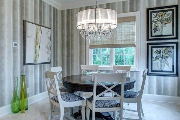 Wonderful Photo Of Dining Room Drum, Drum Lighting For Dining Room