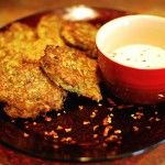 zucchini cakes! http://thepioneerwoman.com/cooking/2008/07/cooking-with-ryan-zucchini-cakes/