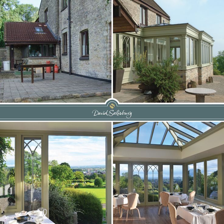 this orangery looks out across the somerset levels on the iconic cathedral of wells and across