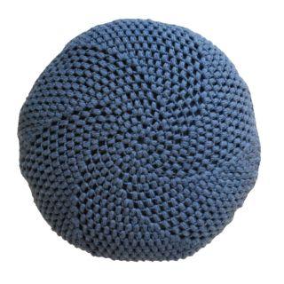 Opskrift på pude med puff stitches | Yarnfreak