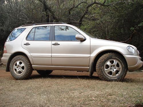 Mercedes ml w163 265 70 17 tires mercedes ml w163 for Mercedes benz e350 tire size