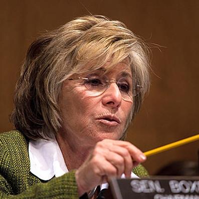 Ma'am meltdown! Barbara Boxer to GOP senators: 'Get out of the fringe lane,'sexists!