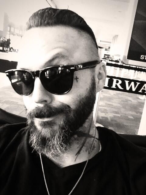 justin furstenfeld on the way to Russia blue october