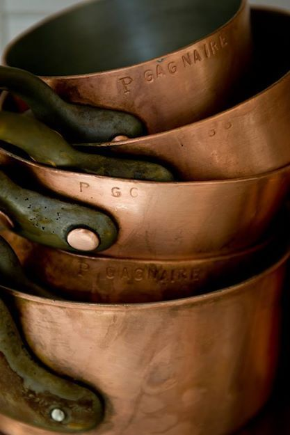 FleaingFrance.....Antique French copper cookware now in the shop - SO BEAUTIFUL!! (Love Copper!!)