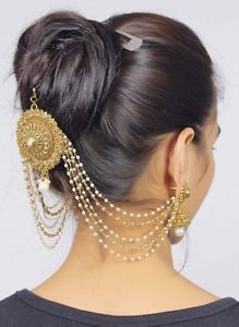 36-Latest-Pakistani-Matha-Patti-Pearl-Stone-Indian-Maang-Tikka-Bridal-Head-Chain