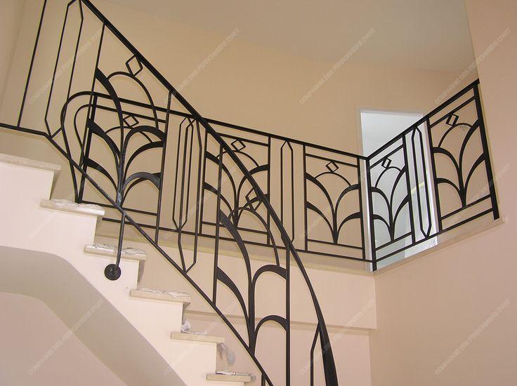 les 25 meilleures id es de la cat gorie balustrades en fer. Black Bedroom Furniture Sets. Home Design Ideas