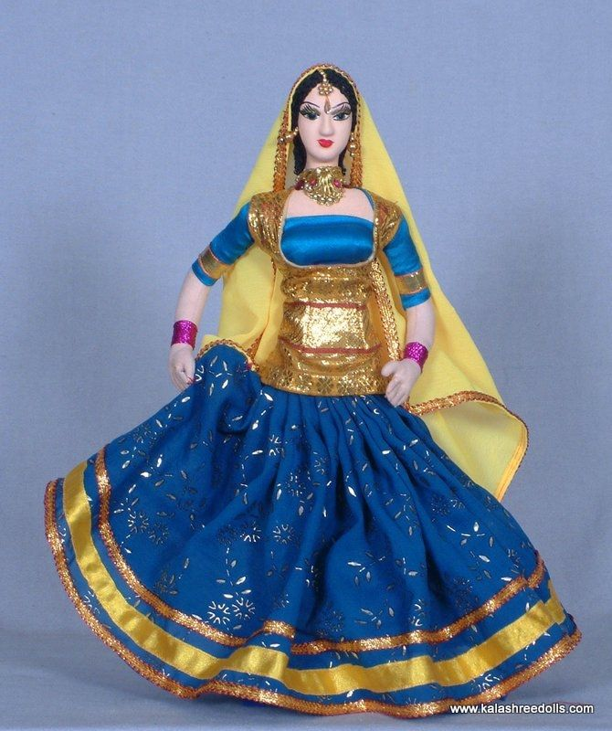 Dance Dolls of India-Ghumar dance rajasthan