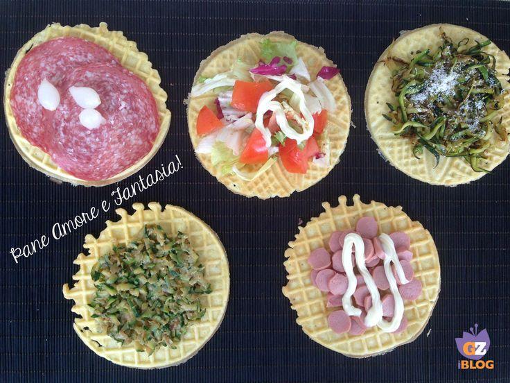 Cialde salate mille gusti - ricetta facile