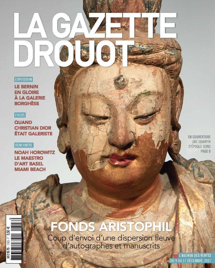 Gazette Drouot n°43 du 08 décembre 2017 #AsianArt #Guanyin #Song #ArtMarket #wEBzINE