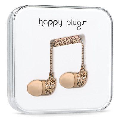 Happy Plugs - In-Ear Leopard