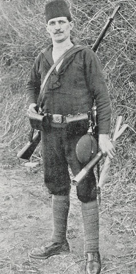 Turkish soldier, WW1.