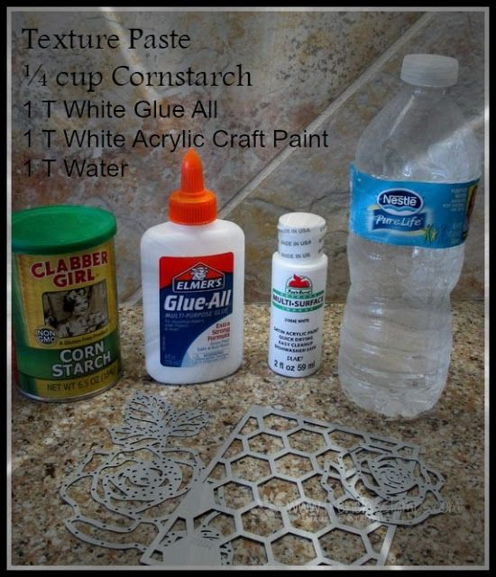 Stamp & Scrap with Frenchie: Homemade Texture paste