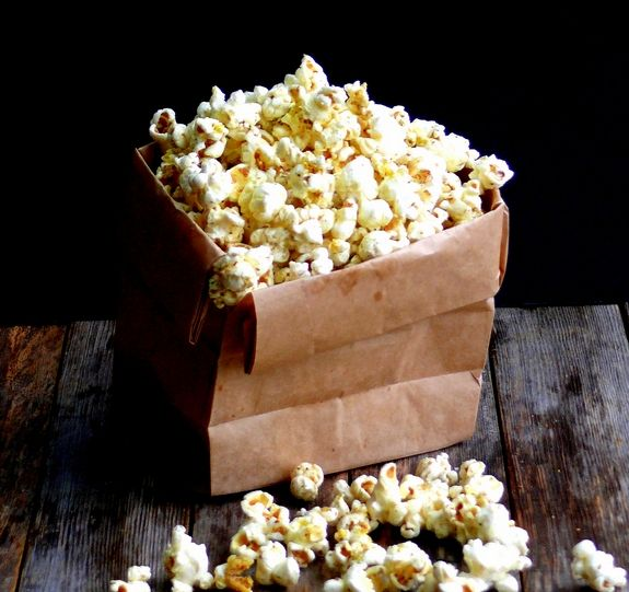 Dill Pickle Popcorn Bag~One of my favorite snacks!!!!!!!!!!!!!