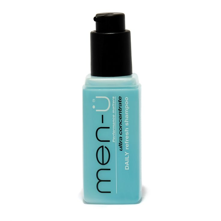 Gently cleans without stripping hair of natural moisture. Hair feels soft and resilient. Men-U shampoos are anionic leaving hair negatively charged.