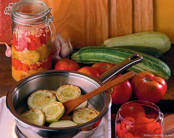 3 рецепта жареных кабачков кольцами на зиму