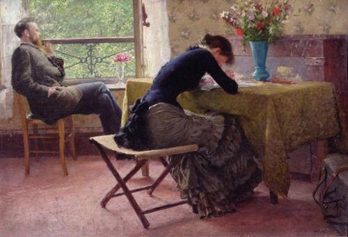 You and I - Erik Werenskiold 1884