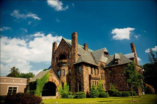 Bellhurst Castle in the Finger Lakes  A night getaway :)