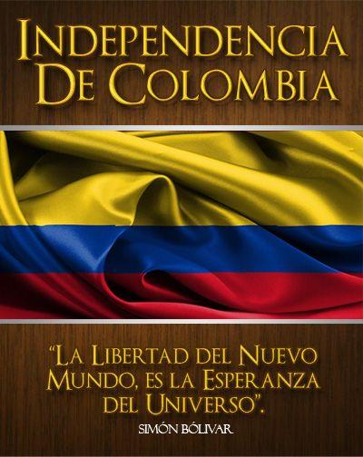 La Guerra de Independencia de Colombia fue el conflicto que se libró durante el primer cuarto del siglo XIX para liberar a la tierra que hoy es Colombia, entonces conocida como Provincias Unidas de la Nueva Granada.