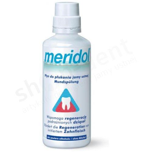 MERIDOL - Płyn wspomagający regenerację dziąseł 400ml Meridol   Sklep Shop-Dent.pl  