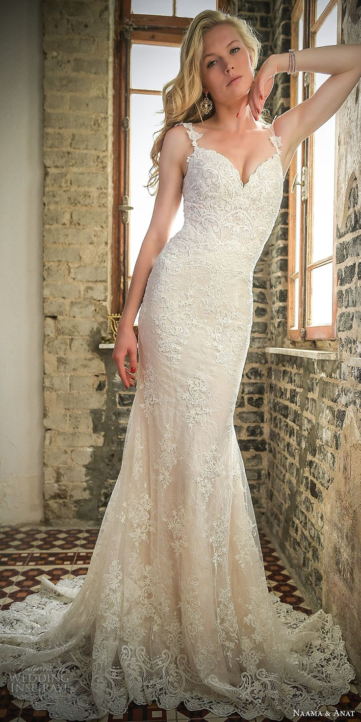 Best 25 trumpet wedding dresses ideas on pinterest lace trumpet naama and anat 2017 wedding dresses work of art bridal collection junglespirit Choice Image