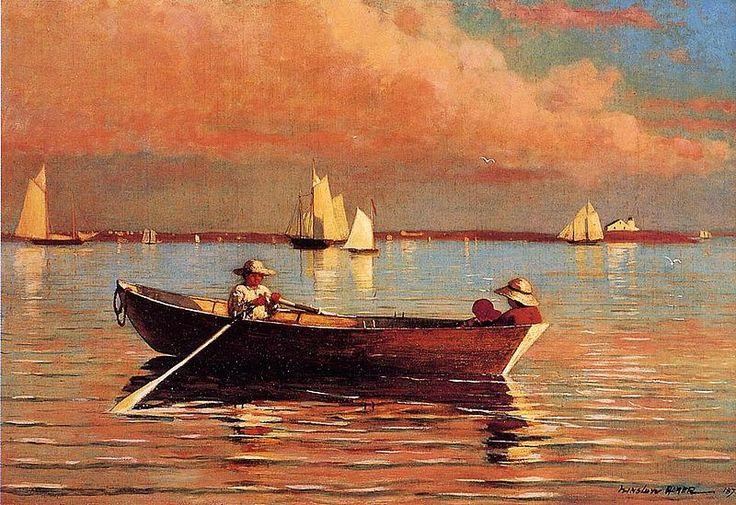 Winslow Homer (1836-1910), Gloucester Harbor, 1873