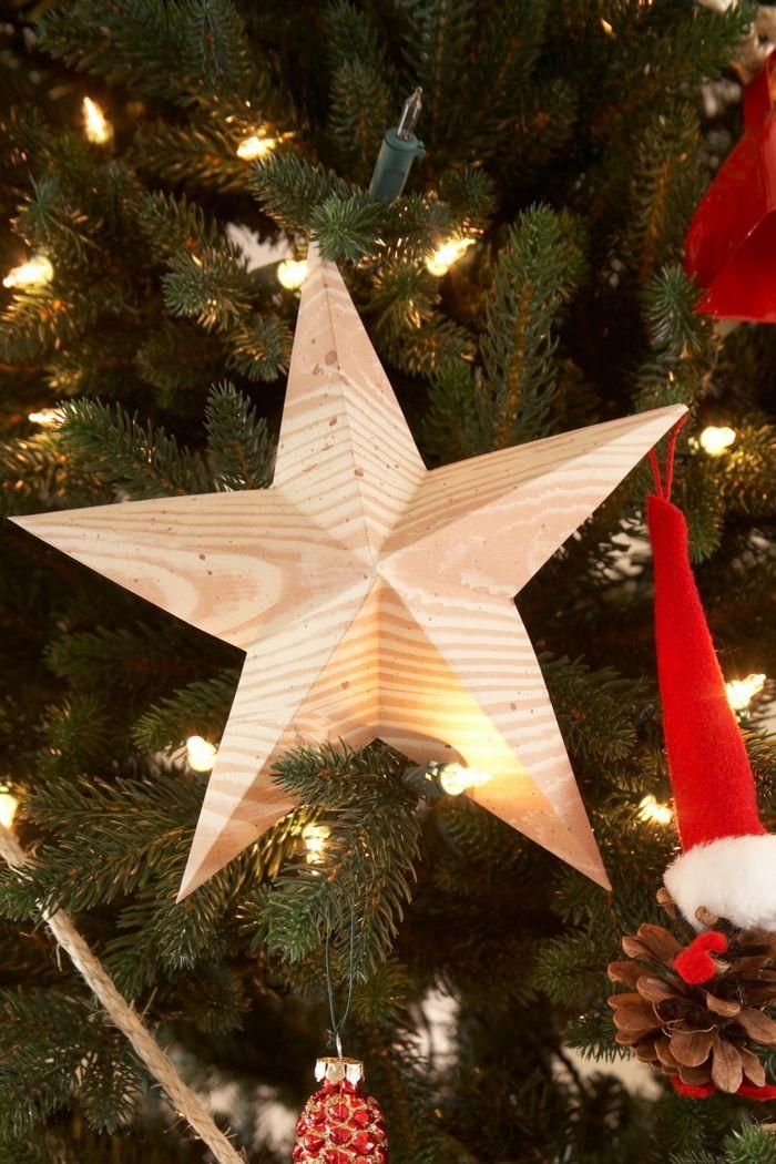Weihnachtsstern Für Tannenbaum.1001 Ideen Zum Weihnachtssterne Basteln Zum Erstaunen A