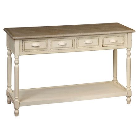 Whether arranged in your bedroom to showcase the TV or displayed beneath a mirror in your bathroom, this console table effortlessly enhances any scheme.