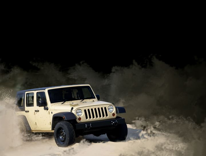 White is my colour, jeep is my pride