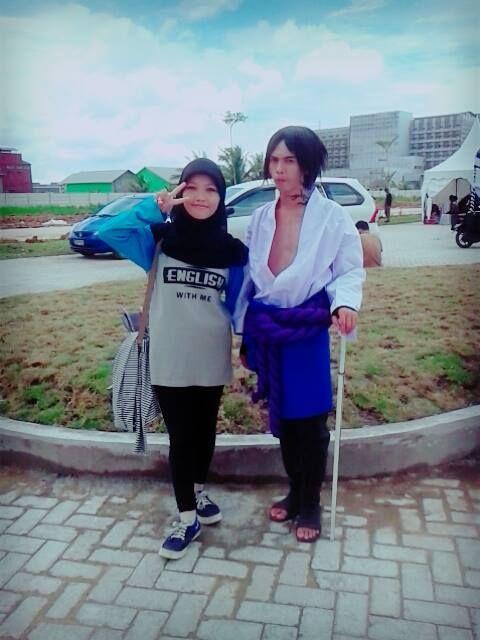 At Japanese Shuukai Festival CitraLand Banjarmasin, with Sasuke