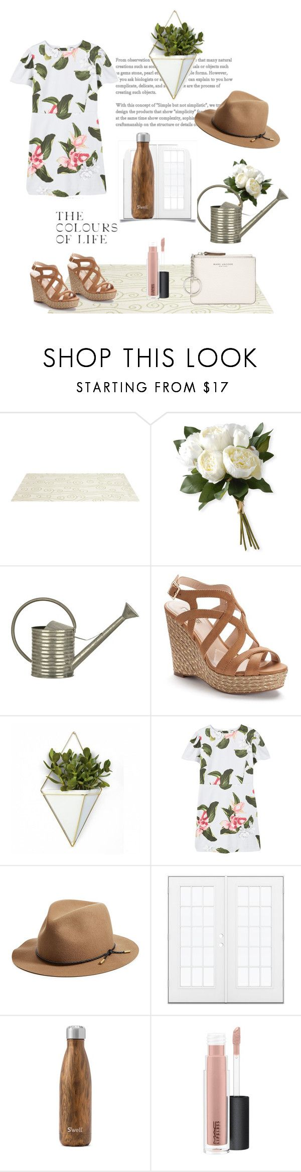 """Untitled #28"" by sunlight-crystal ❤ liked on Polyvore featuring Somerset Bay, National Tree Company, Jennifer Lopez, Umbra, MANGO, rag & bone, West Elm, MAC Cosmetics and Marc Jacobs"