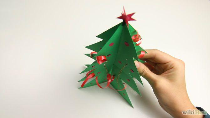 Make a Paper Christmas Tree Step 5