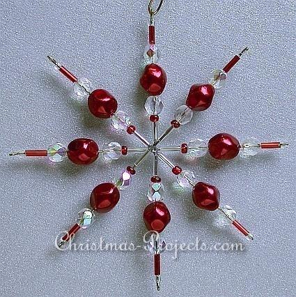 Christmas Craft - Beaded Star