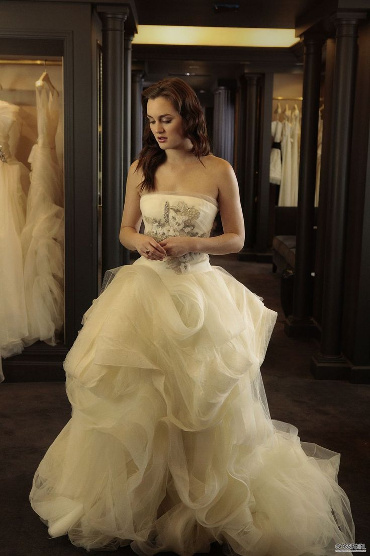 photo: Gossip Girl Style Bride