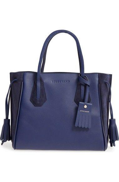 LONGCHAMP 'Small Penelope Fantasie' Leather Tote. #longchamp #bags #leather #hand bags #tote #lining #