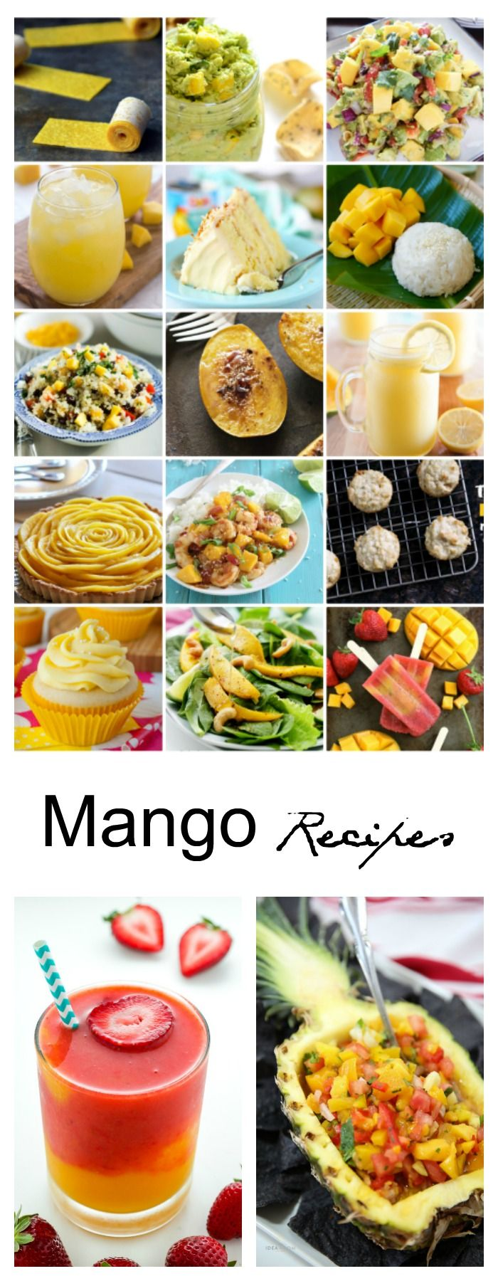 Dessert Ideas| Mango Recipes - Sharing some heavenly Mango Recipes that you are going to want to make and bring to a BBQ or party this Spring and Summer. Enjoy!