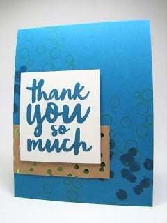 Maddiebug Designs - Playful Thank You - Stampin' Up!, Playful Backgrounds, Thankful Thoughts