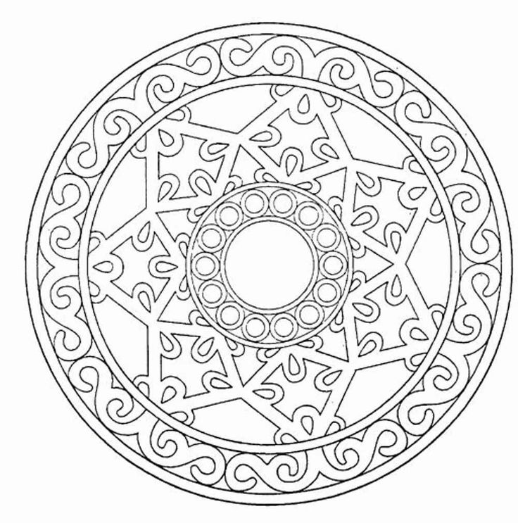 fall coloring pages for adults printable kids colouring pages mandala